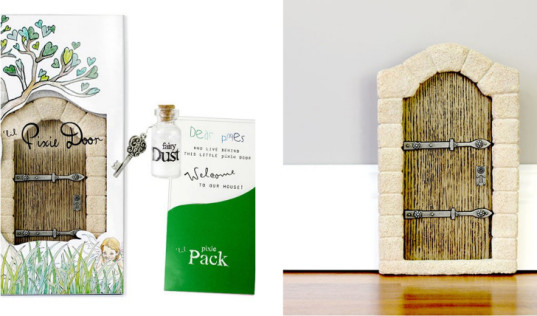 Invite fairies into your home with a lil 39 fairy door for The little fairy door company