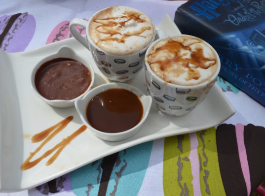 salted caramel mocha, vegan salted caramel mocha, vegan Starbucks hack, how to