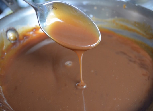vegan caramel sauce, how to, homemade mocha with sea salt, Starbucks hack
