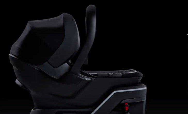 The 4moms Infant Car Seat Installs Itself Checks Base Installation