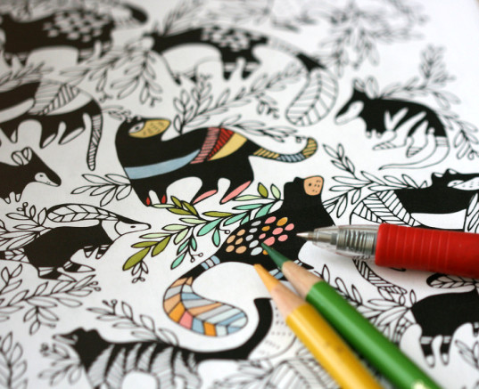 Adult coloring book 10