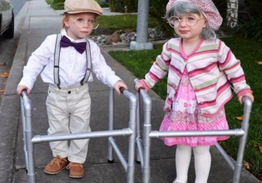 sc 1 st  Inhabitat & Little Old Man and old woman toddler Halloween costumes   Inhabitots