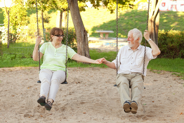 playgrounds for senior citizens enable the elderly to