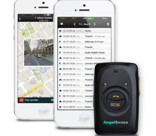 AngelSense, GPS tracking, parenting, autism