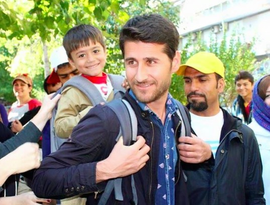 refugee aid, baby carriers for refugees, baby carriers, humanitarian organization