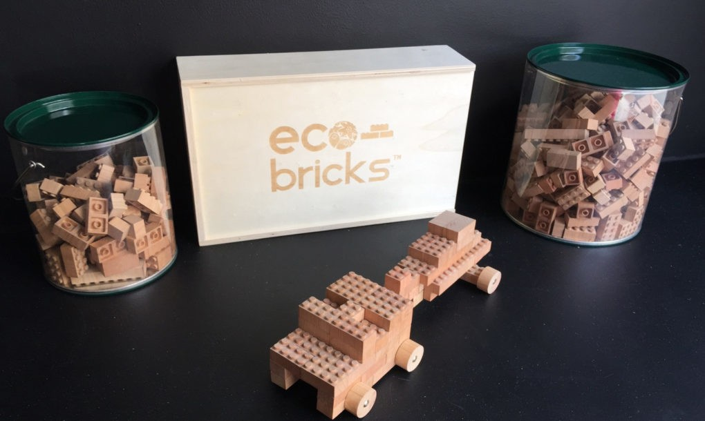 Eco-Bricks are made from cherry wood for greener LEGO play ...