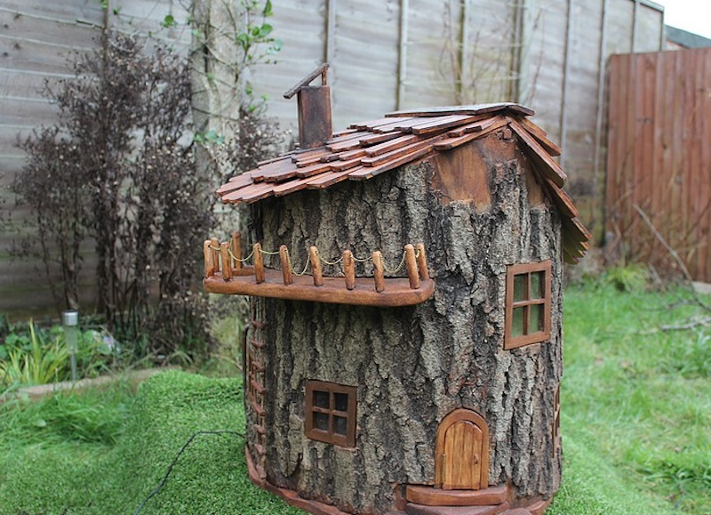 The Fairy Houses We Created As Kids, Using Found Wood Pieces And Complete  With Acorn U201cbowlsu201d, Are Getting An Upgrade Thanks To British Woodworker  Ollie From ...