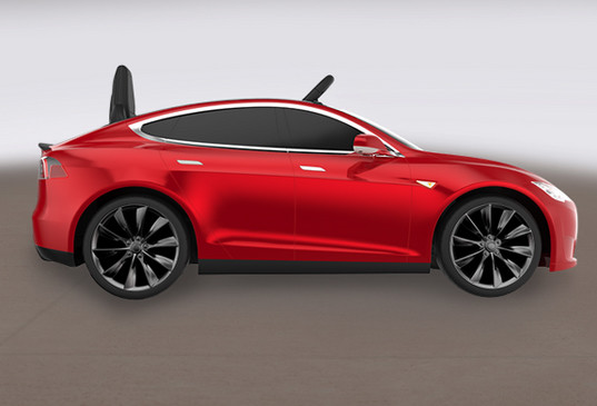 Tesla partners with Radio Flyer to create a kid-sized ...