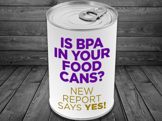 BPA, toxins, canned food, canned food lining