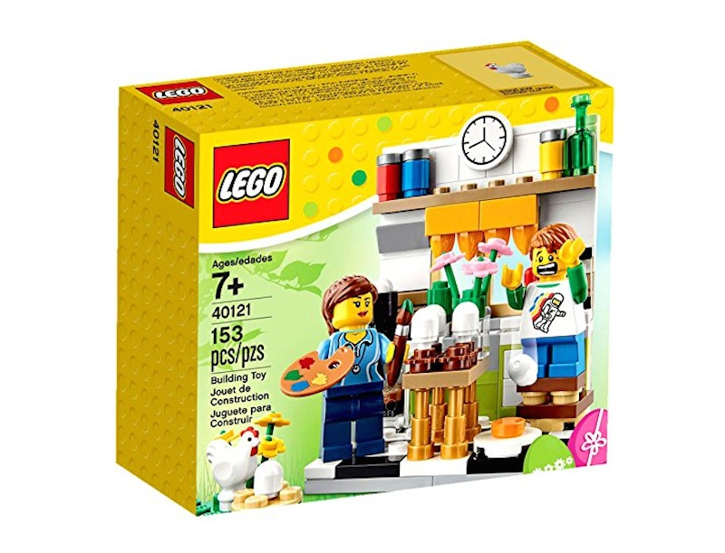 Painting easter eggs lego set is a festive gift for your lego painting easter eggs lego set is a festive gift for your lego loving bunnys basket inhabitots negle Choice Image