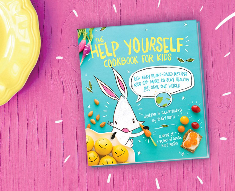 Book review the help yourself cookbook for kids 60 easy plant books solutioingenieria Choice Image