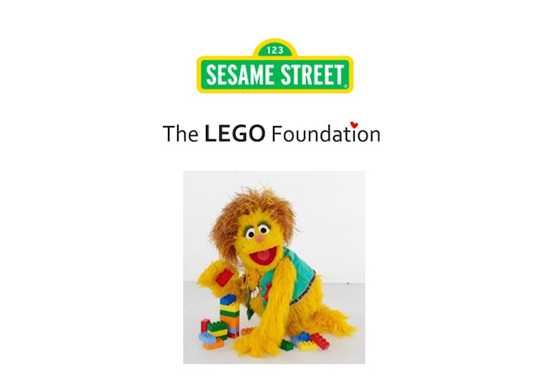 The LEGO Foundation teams up with Sesame Street to promote learning ...