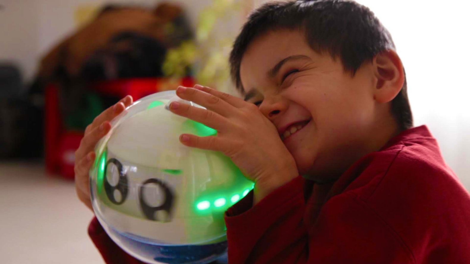 Toys For Kids With Autism : Leka is an interactive robot that helps children with