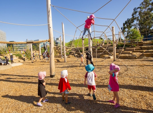nature play, playground, eco play, australian playground