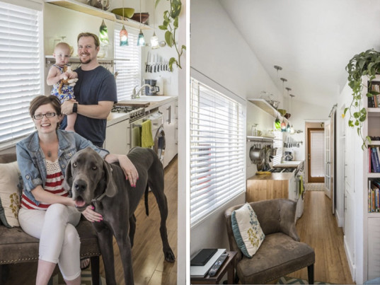 Macy Miller, tiny house living, Mini Motives, green family