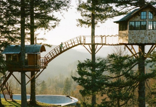 treehouse, kid friendly, fun design, playful design