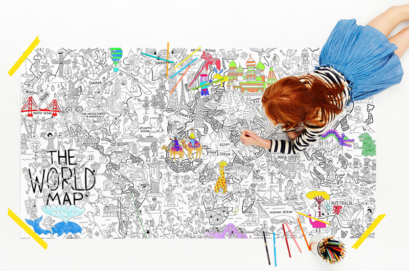 What a colorful world really big coloring poster is the perfect uncategorized gumiabroncs Image collections
