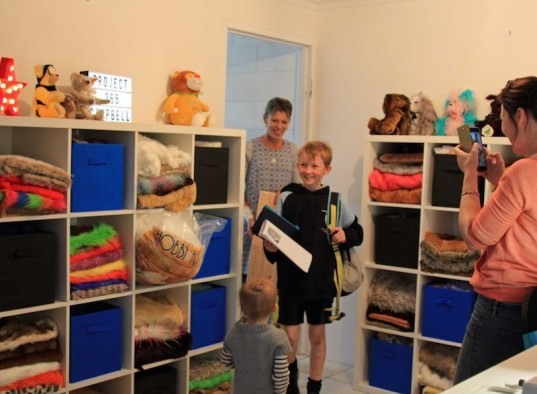 Campbell Remess, kids who give, teddy bears, teddy bears for sick kids