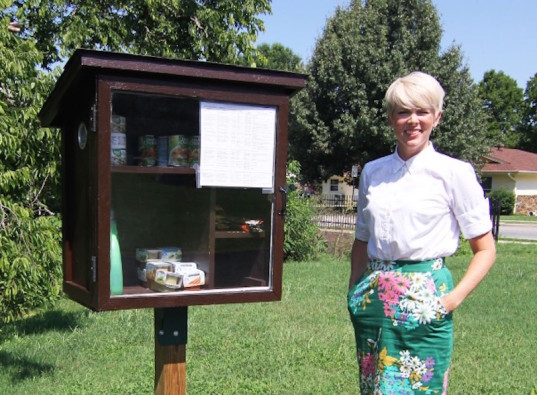 little free pantry, food insecurity, acts of kindness, philanthropy