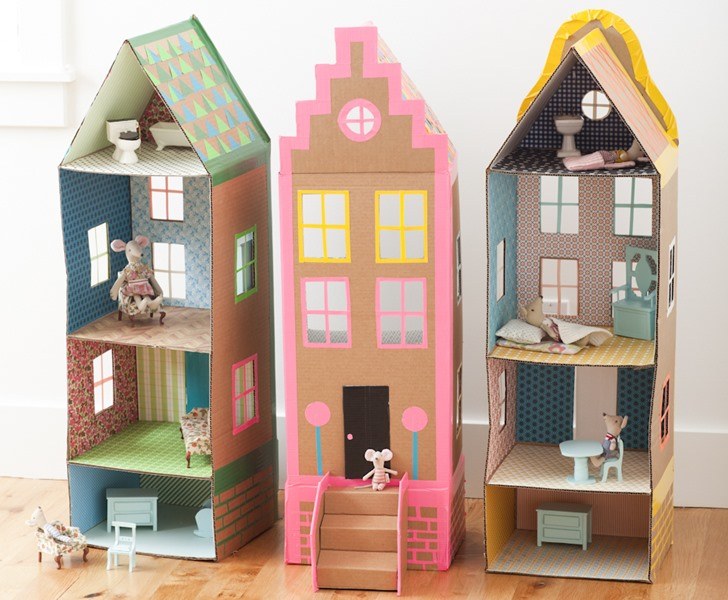 20 DIY Dollhouses That Are Eco Friendly Affordable And Super Easy For Any Parent To Make