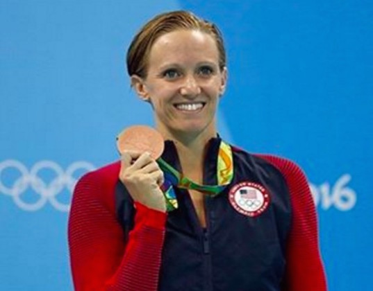 Dana Vollmer, swimming, Olympic medal, Olympic mom