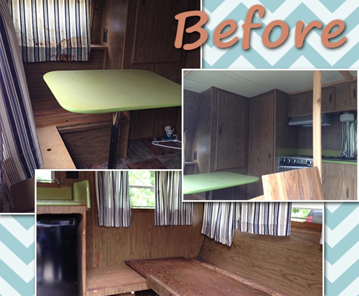 14 Year Old Transforms A 1974 Wilderness Camper Into A