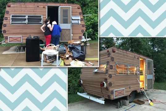 glamping, glamper, camper makeover, eco-teen, rv renovation, camper renovation, teen diy, diy rv makeover, diy camper makeover