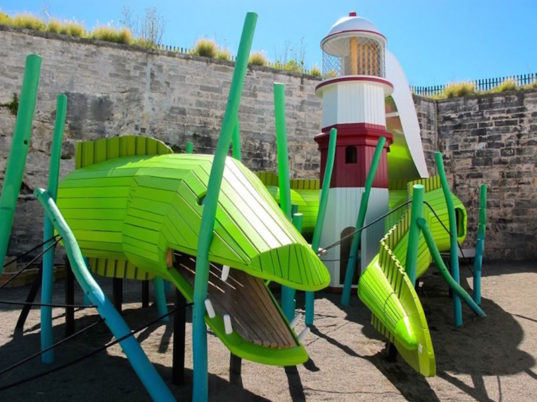 Bermuda playground, Monstrum, kid friendly, kids entertainment
