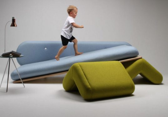 playful furniture ,inclusion couch, Marvin Rever, design