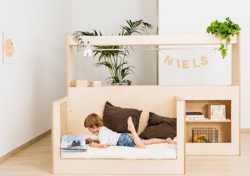 Teehee Eco Friendly And Adjustable Cribs U0026 Toddler Beds Illustrate  Multipurpose Minimalist Design