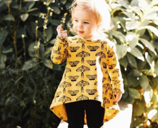 noni bee, noni bee clothing, organic kids clothing, ethically made clothing
