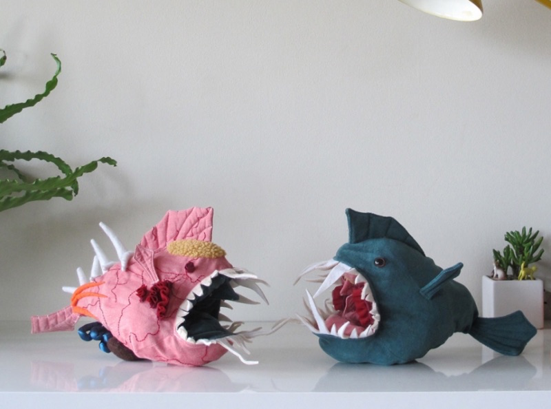 Anglerfish toy teaches kids about anatomy as it turns inside out to ...