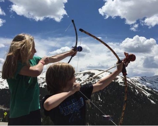 archery, bows and arrows, kid friendly archery, kids entertainment