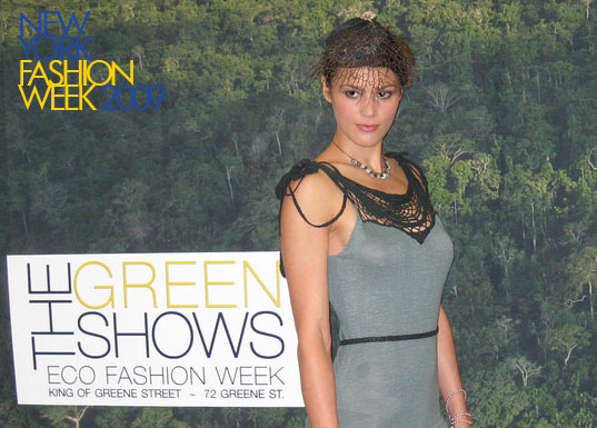 summer rayne oakes at the greenshows, the greenshows, new york fashion week, sustainable design, sustainable style, green fashion, eco fashion, runway show
