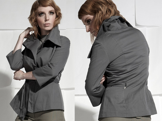 Eco-friendly women's jackets for fall | Ecouterre
