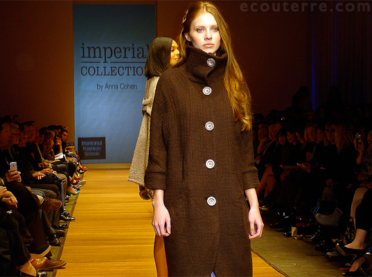 Portland Fashion Week: Anna Cohen, sustainable fashion, eco-fashion, Imperial Collection