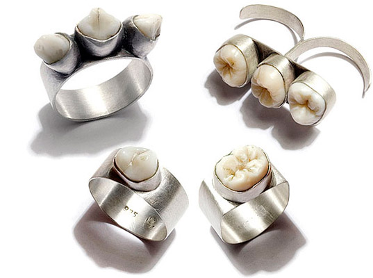 Image result for human teeth jewellery
