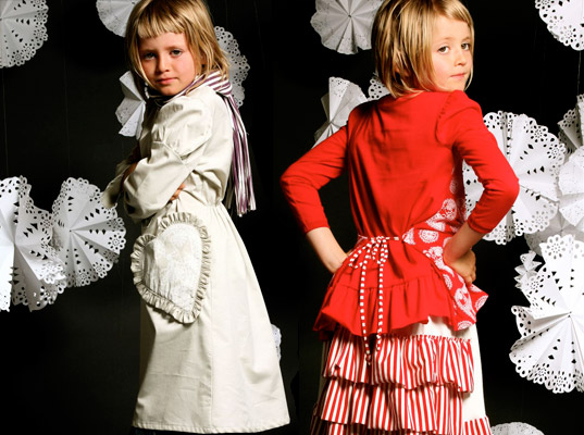 Paper Wings, eco-fashion, sustainable fashion, eco girls fashion, eco children's fashion, eco kids fashion
