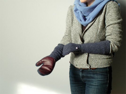 Recycled Lambswool Mittens