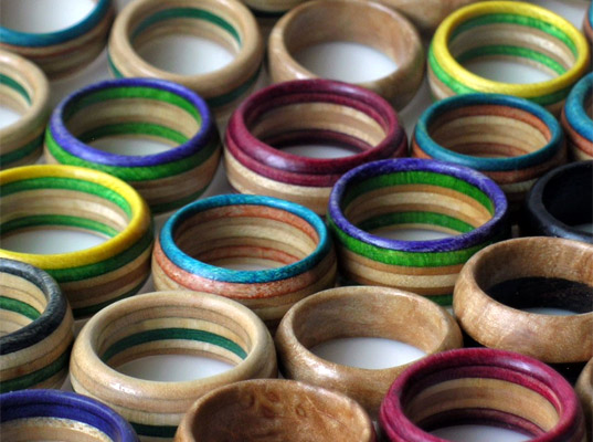 Skateboard rings by Skate or DIY