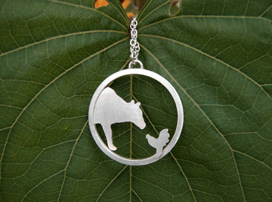 Farm Sanctuary Necklace by Figs and Ginger