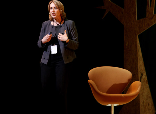 Ros Harvey, Global Programme Manager of the Better Work Programme, at the Copenhagen Fashion Summit