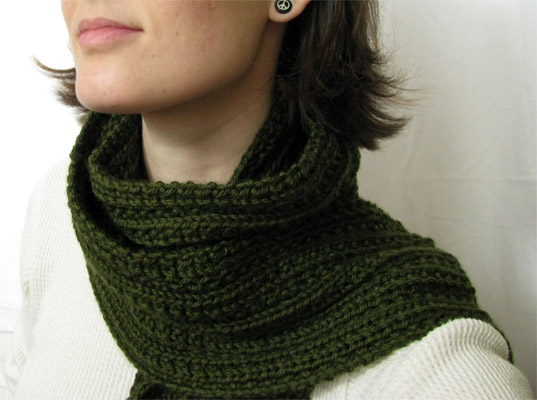 Twin Rivers Scarf by Sparrow Nest Knits
