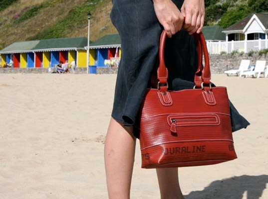 1d45af0c6032 Elvis   Kresse Makes Smokin  Hot Bags From Recycled Fire Hoses