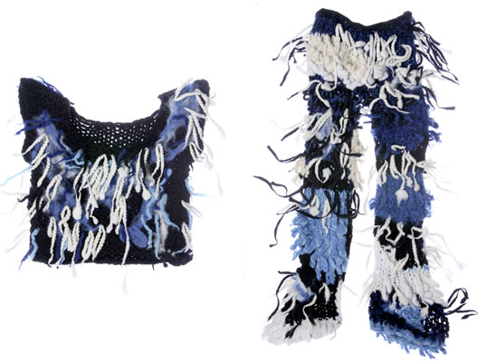 Rodarte custom knits for Winter Olympics, Kate and Laura Mulleavy, Rodarte, Winter Olympics, eco-fashion, sustainable fashion, green fashion, winter knits