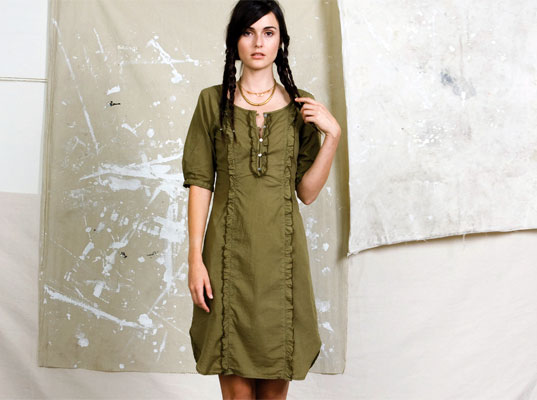 Mimosa Tunic by Stewart + Brown, Stewart + Brown, eco-fashion, sustainable fashion, green fashion, sustainable style, organic clothing