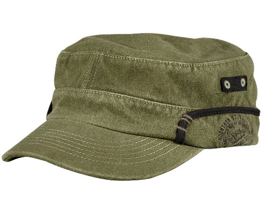 Men s Canvas Military Hat by Timberland  43f9eb004be