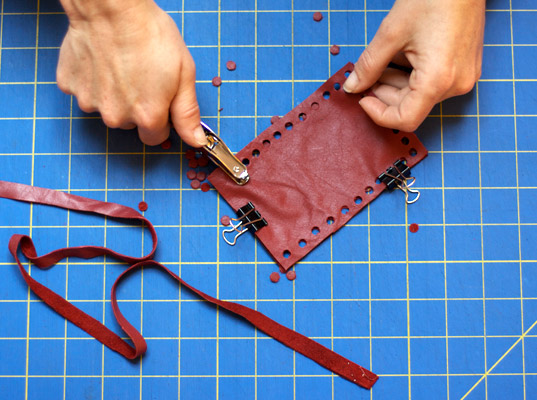 reMade USA, Shannon South, iPhone, recycled leather, upcycled leather, recycled accessories, upcycled accessories, DIY tutorials, eco-fashion, sustainable fashion, green fashion, sustainable style