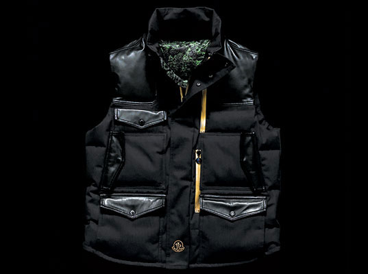 Pharrell Williams, Pharrell, Moncler, Bionic Yarn, recycled plastic bottles, recycled PET, men's eco-clothing, men's eco-fashion, eco-fashion, sustainable fashion, green fashion, sustainable style, eco-friendly vests, eco-friendly jackets