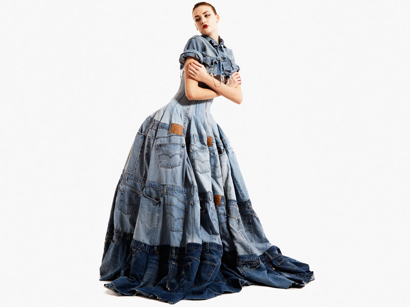 f4153511b7d 7 Designer Looks Made From Recycled Denim Jeans